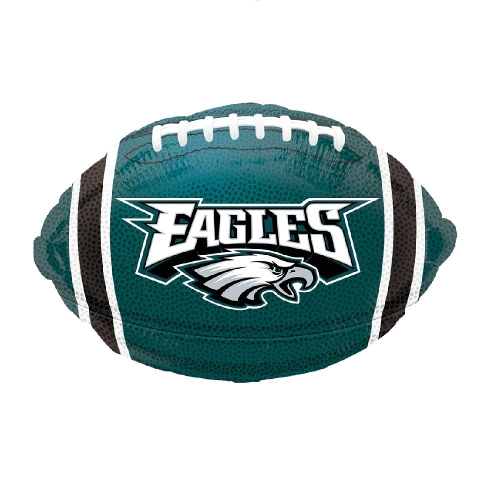 "18"" Mylar ""Eagles"" Football - #177"