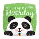 "18"" Mylar ""Happy Birthday"" Adorable Panda - #37"
