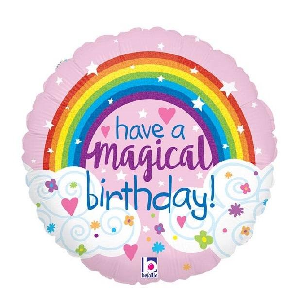 "18"" Mylar ""Have a Magical Birthday"" - #40"