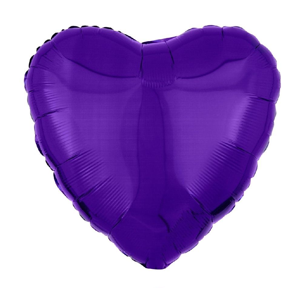 "18"" Mylar ""Purple Heart""  - #339"