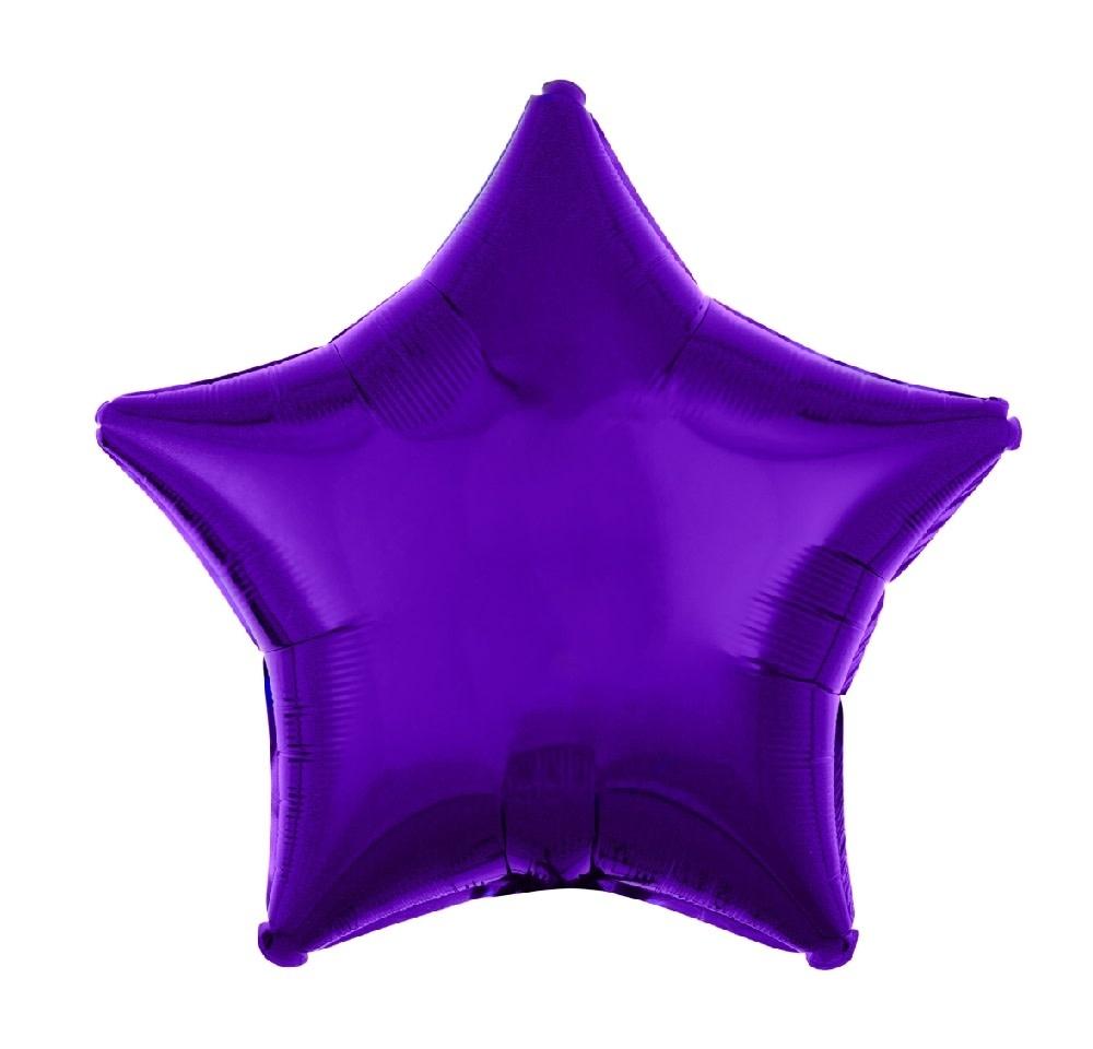 "18"" Mylar ""Purple Star"" - #294"