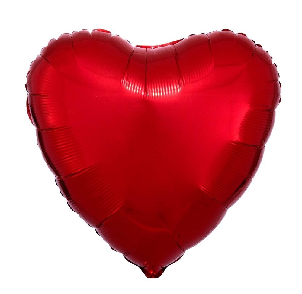 "18"" Mylar ""Red Heart"" - #337"
