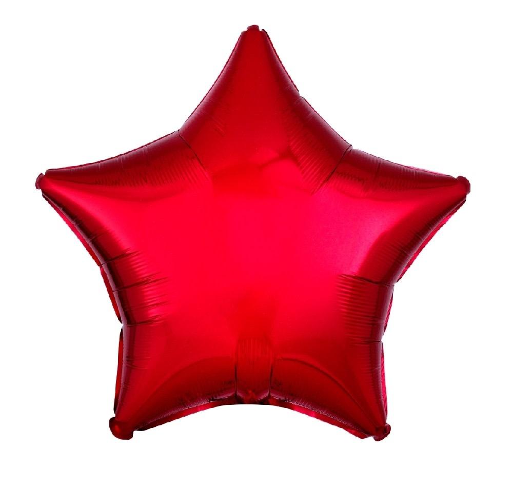 """18"""" Mylar """"Red Star"""" - #289"""