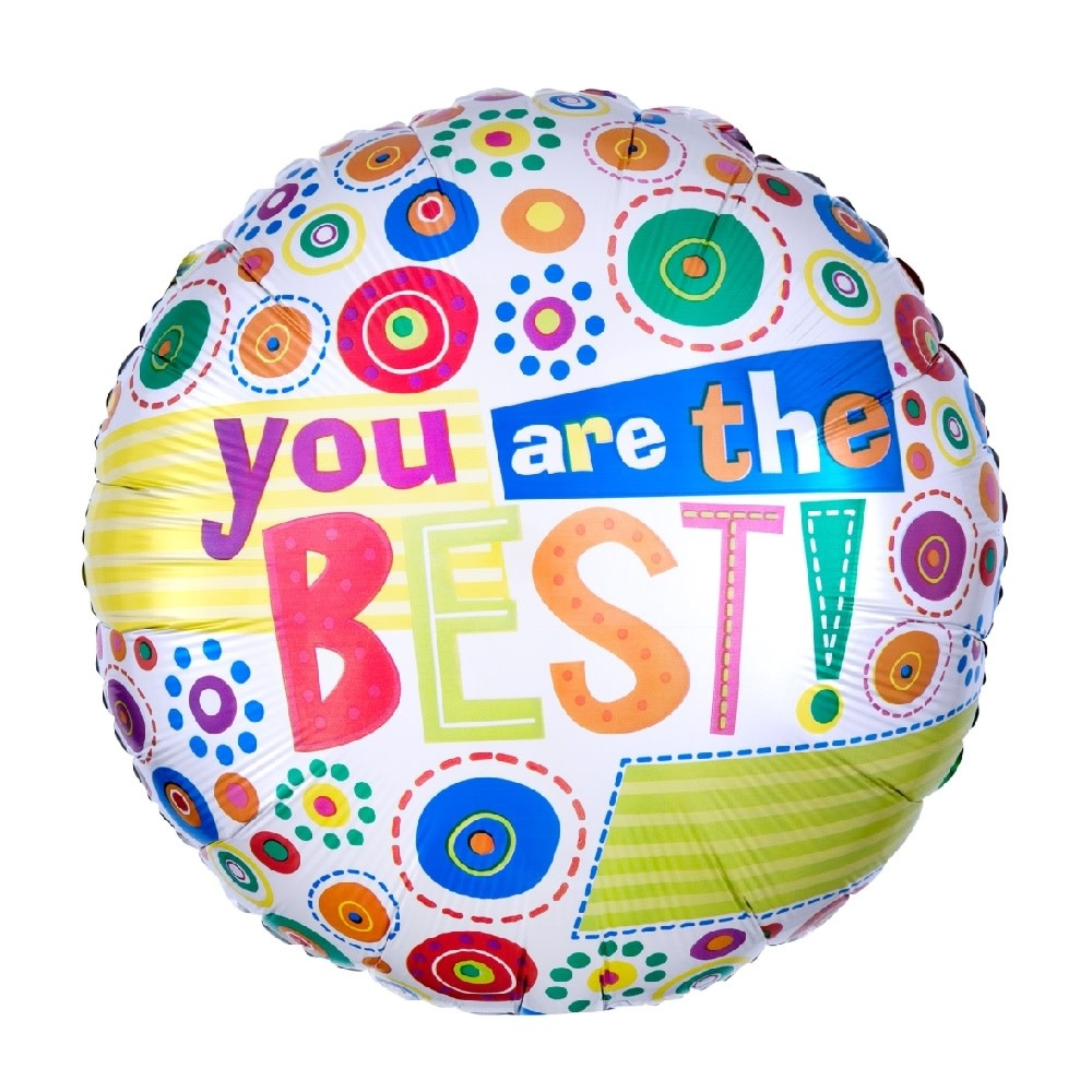 """18"""" Mylar """"You Are the Best!"""" - #168"""