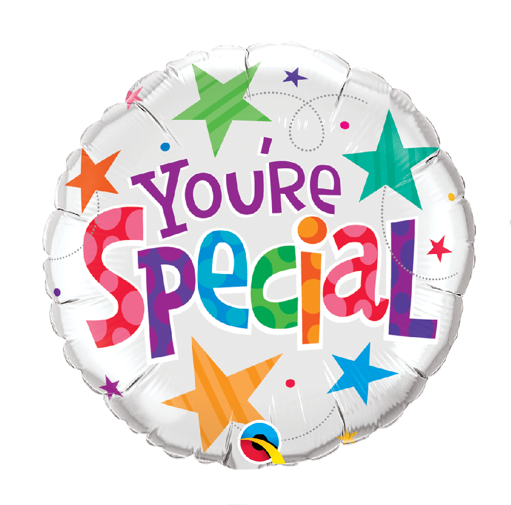 """18"""" Mylar """"You're Special"""" Stars- #165"""