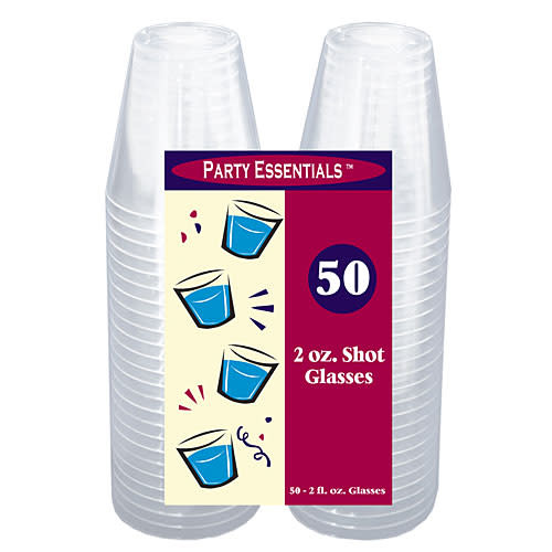 2 oz. Shot Glasses - Clear  50 Ct.
