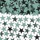 Cool Mint Star Confetti, 2 1/2 Oz.