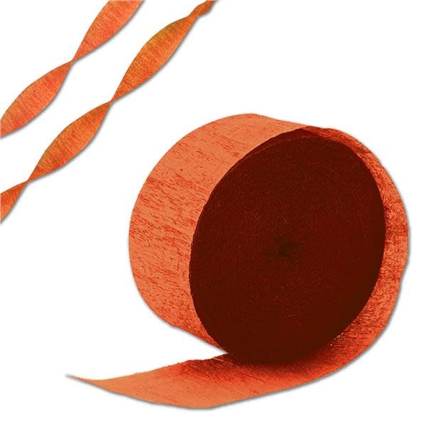 Orange Peel Streamer Roll 81 feet