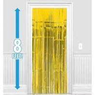 Yellow Door Curtain