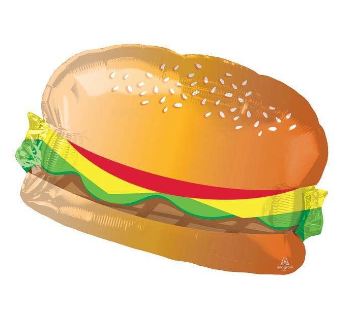 "26"" Hamburger Mylar Balloon"