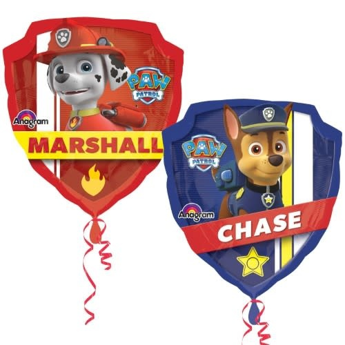 "27"" Paw Patrol Mylar Balloon"
