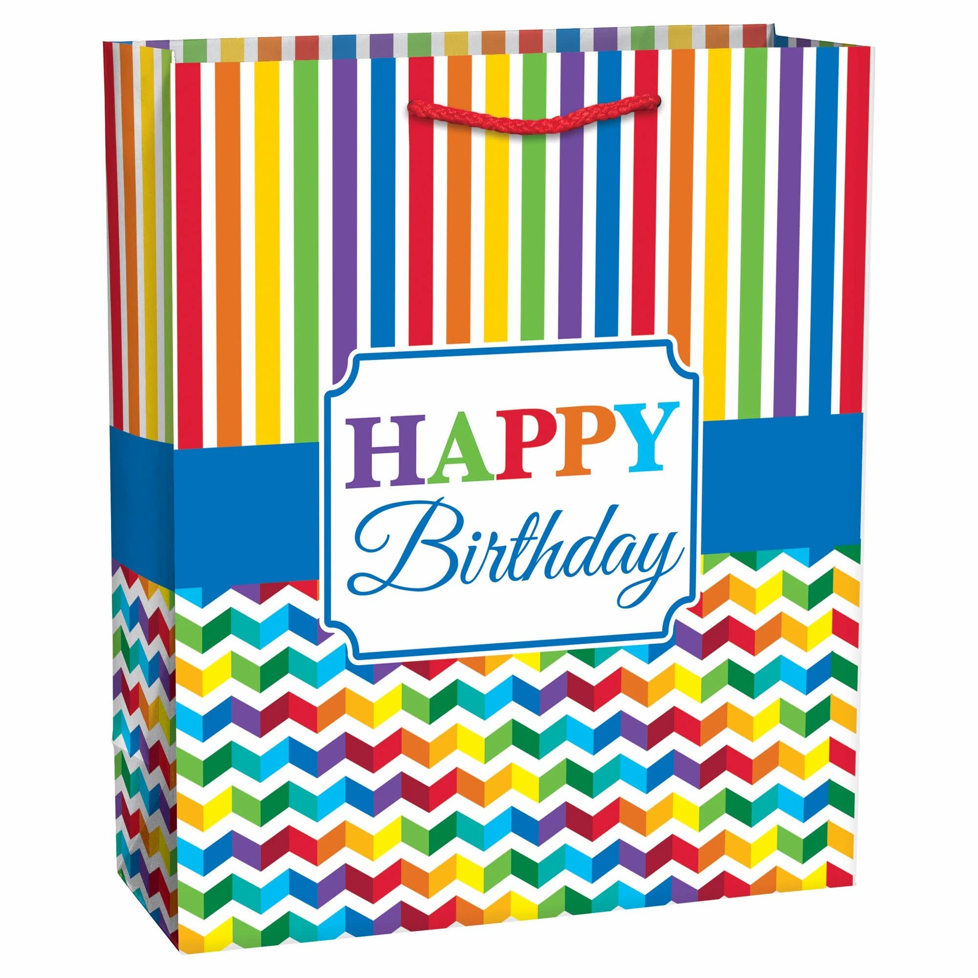Large Gift Bag - Bright Birthday