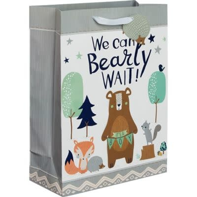 Bear-Ly Wait Baby X-Large Bag W/Gift Tag