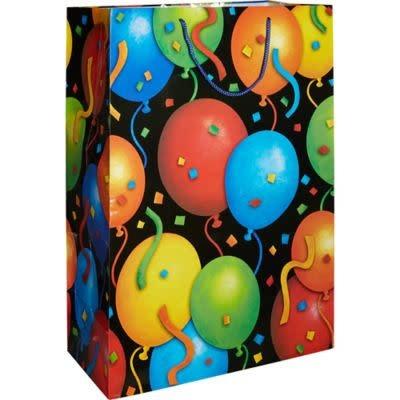 Jumbo Gift Bag - Balloons Birthday