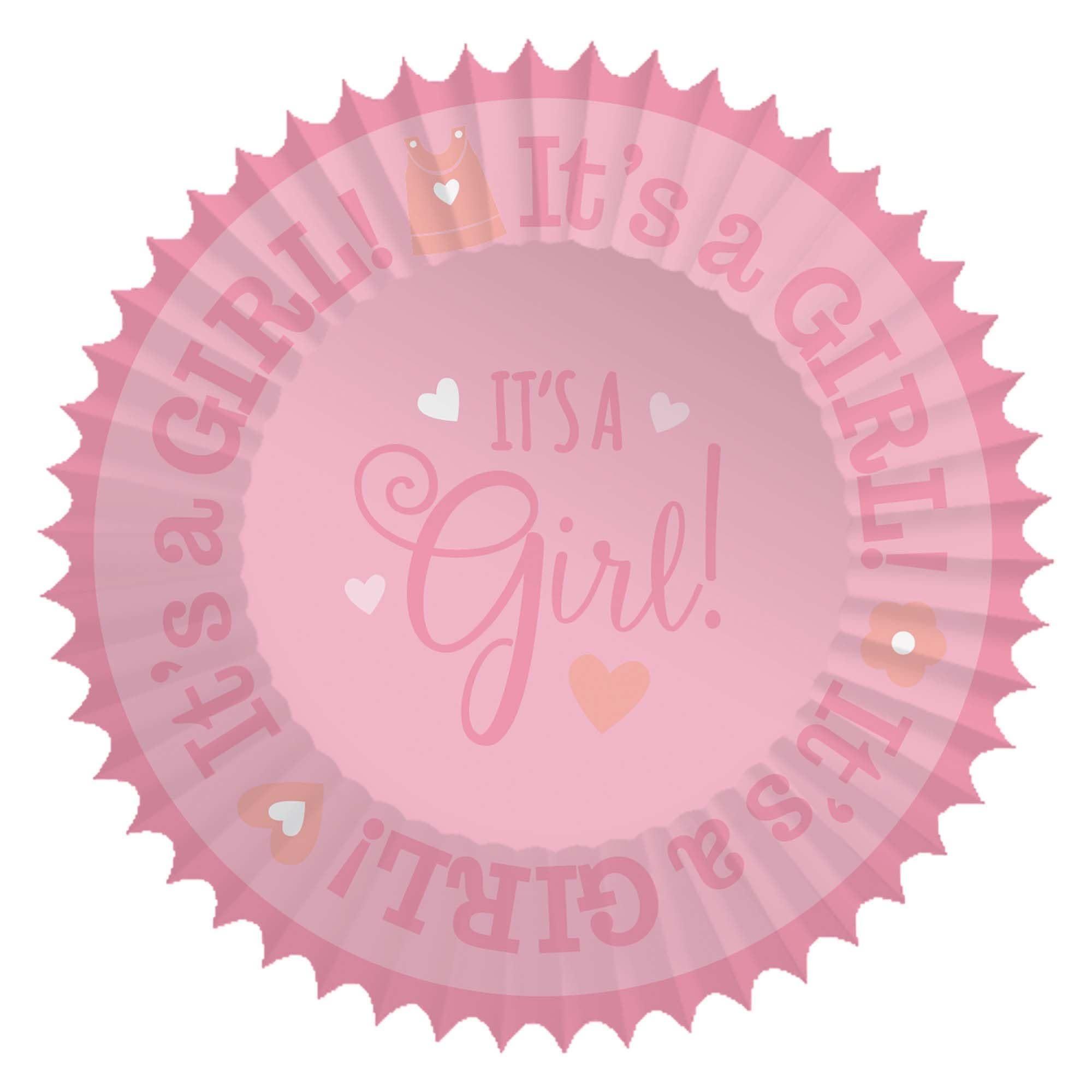 Baby Shower Cupcake Cases - Girl