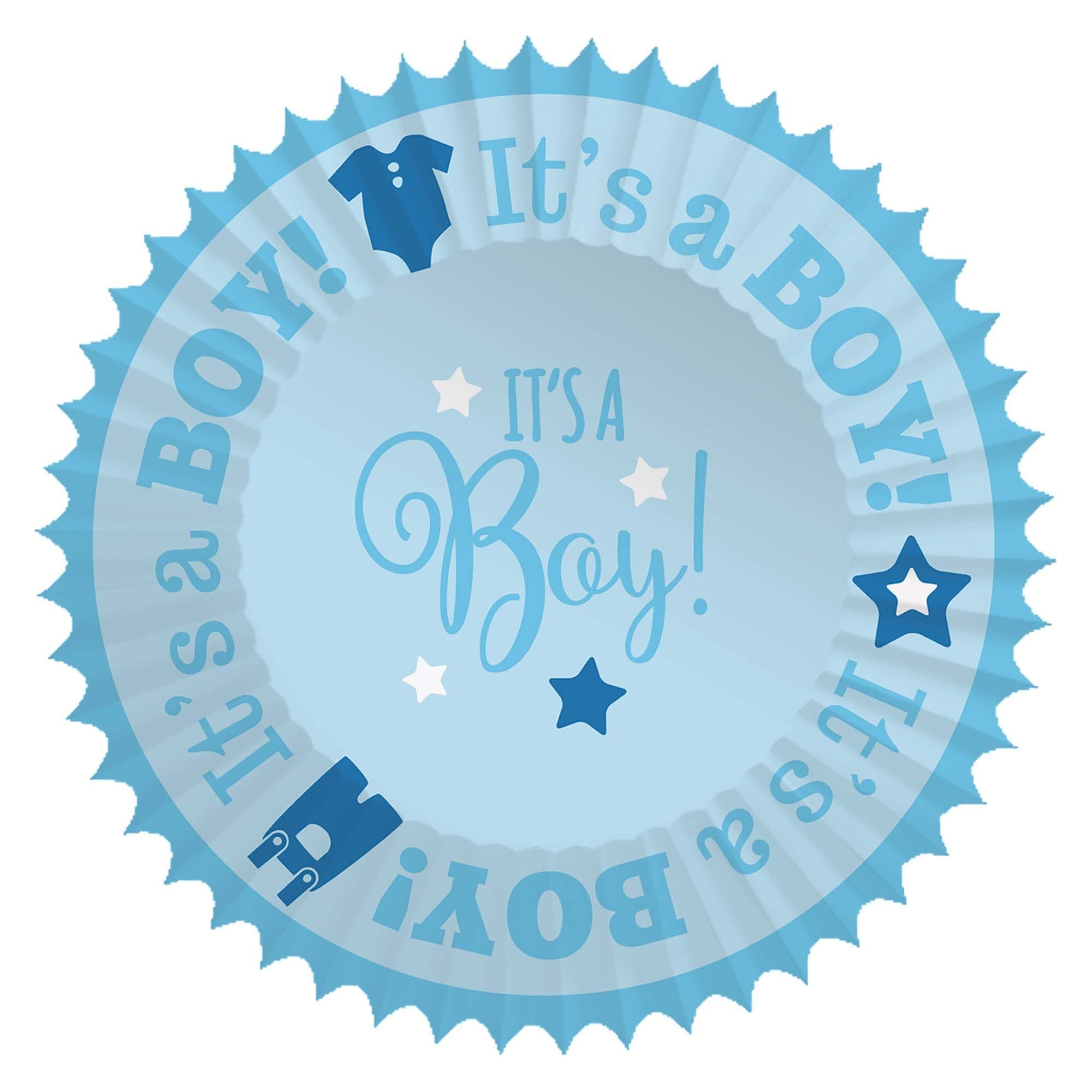 Baby Shower Cupcake Cases - Boy