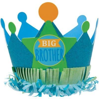 Mini Glitter Big Brother Crown