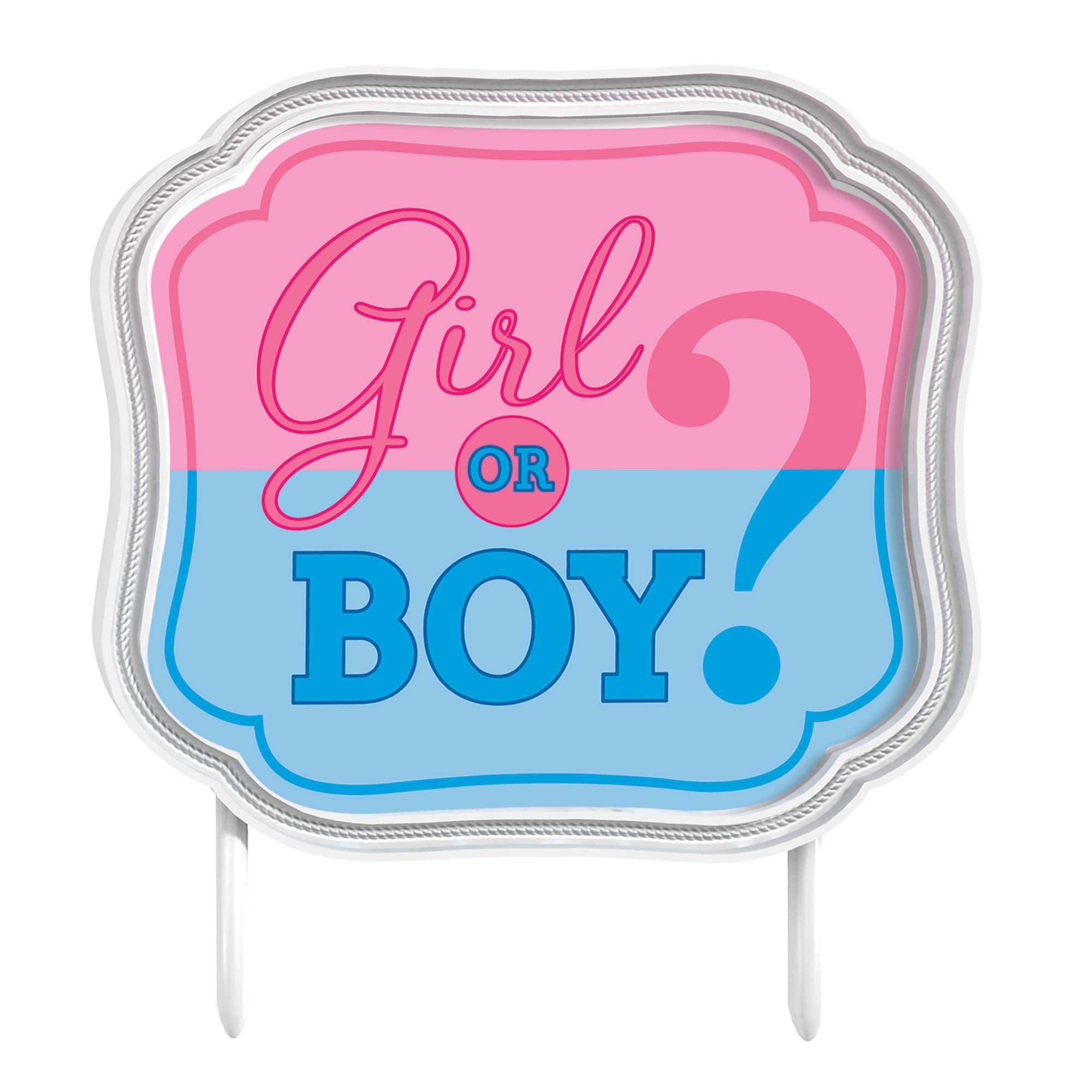 Girl Or Boy? Cake Topper