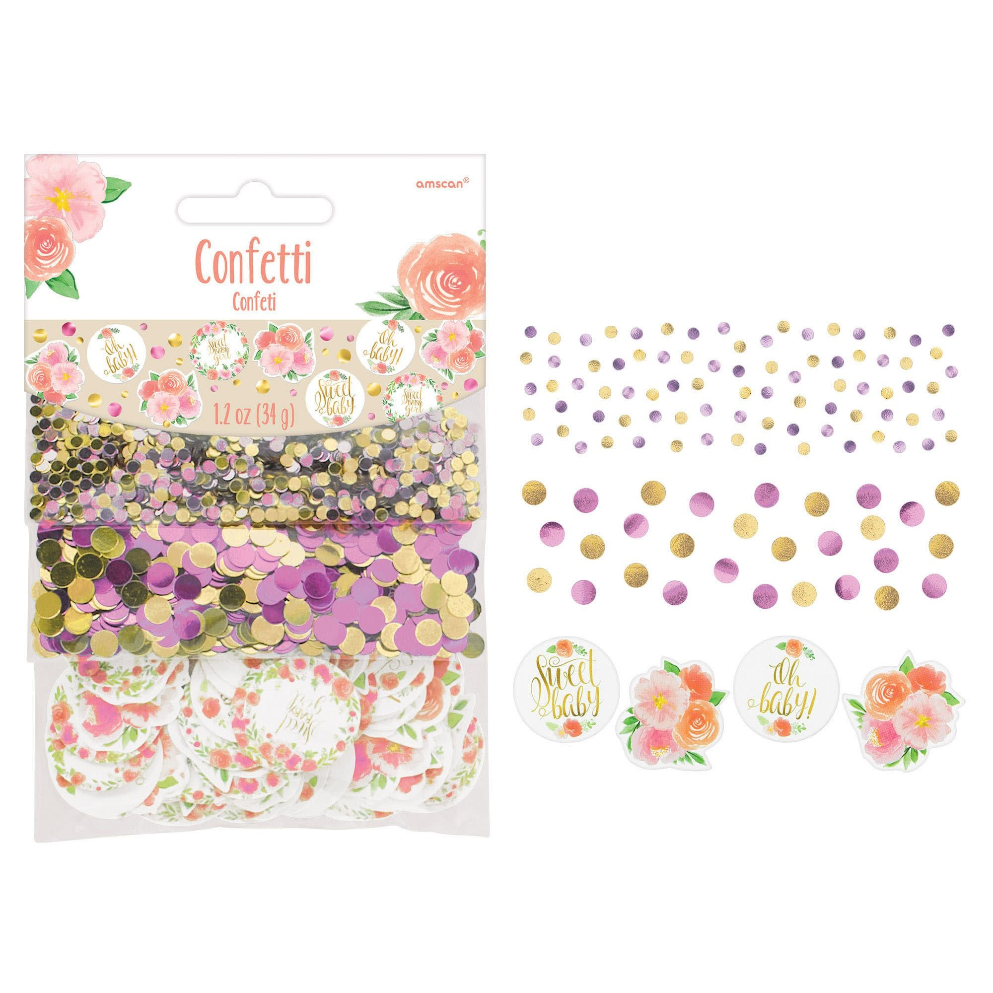 Floral Baby Value Confetti Pack
