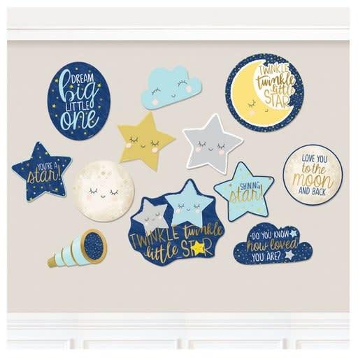 Twinkle Little Star Cutouts