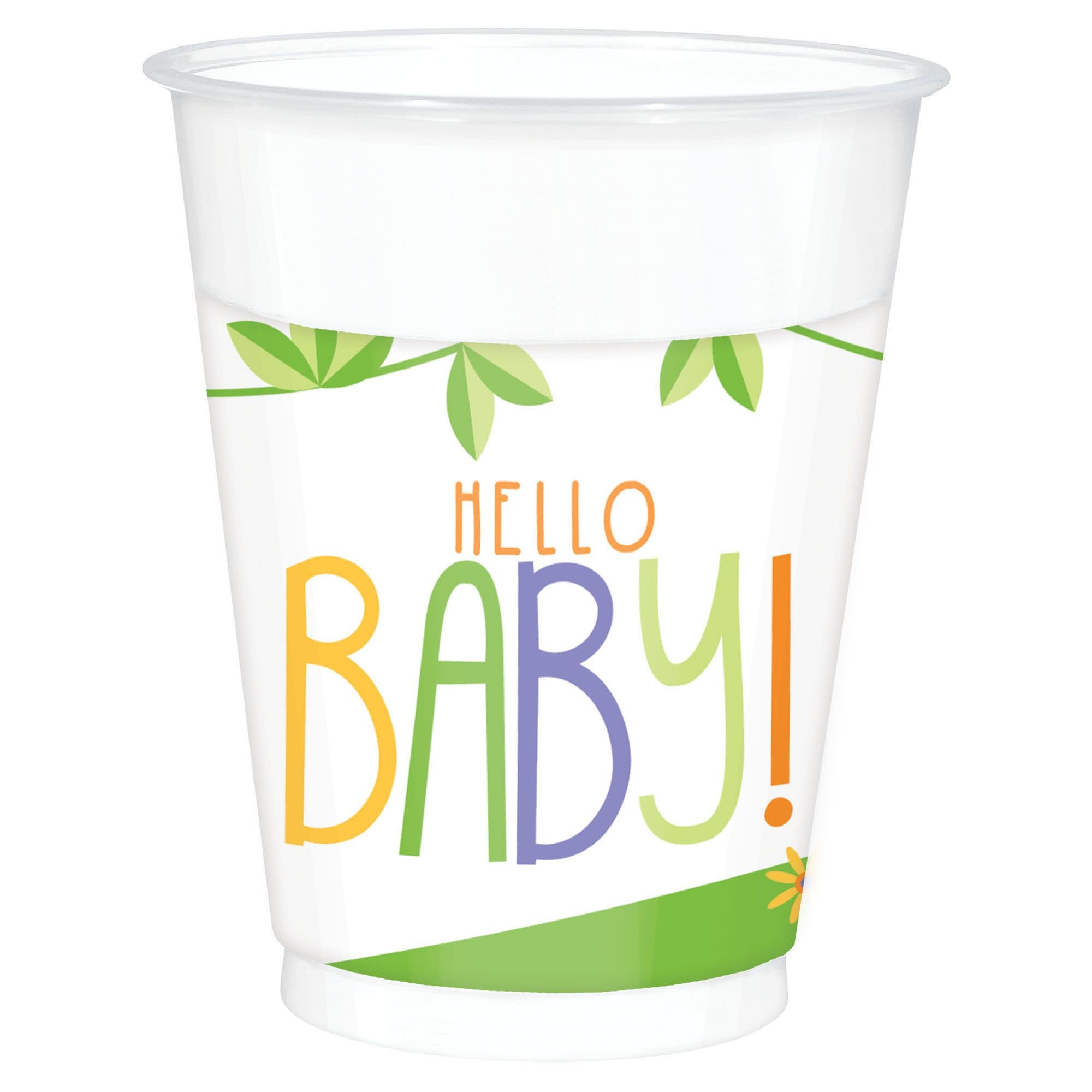 Fisher Price™ Hello Baby Plastic Cups, 16 Oz.- 25 Count