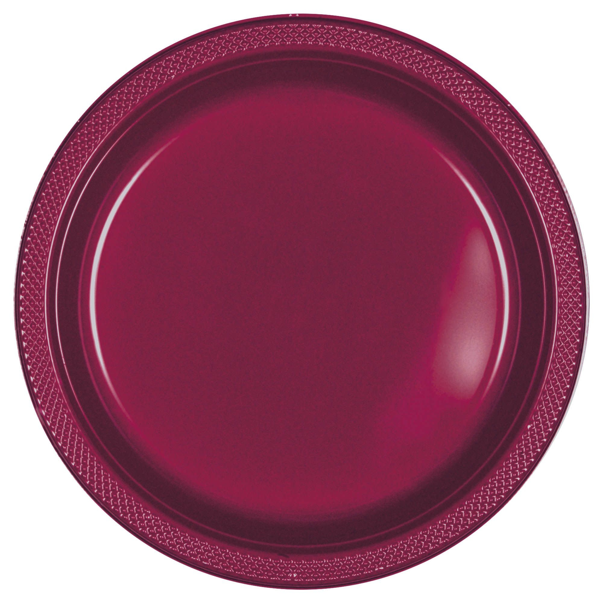 "Berry Plastic Plates, 10 1/4"""