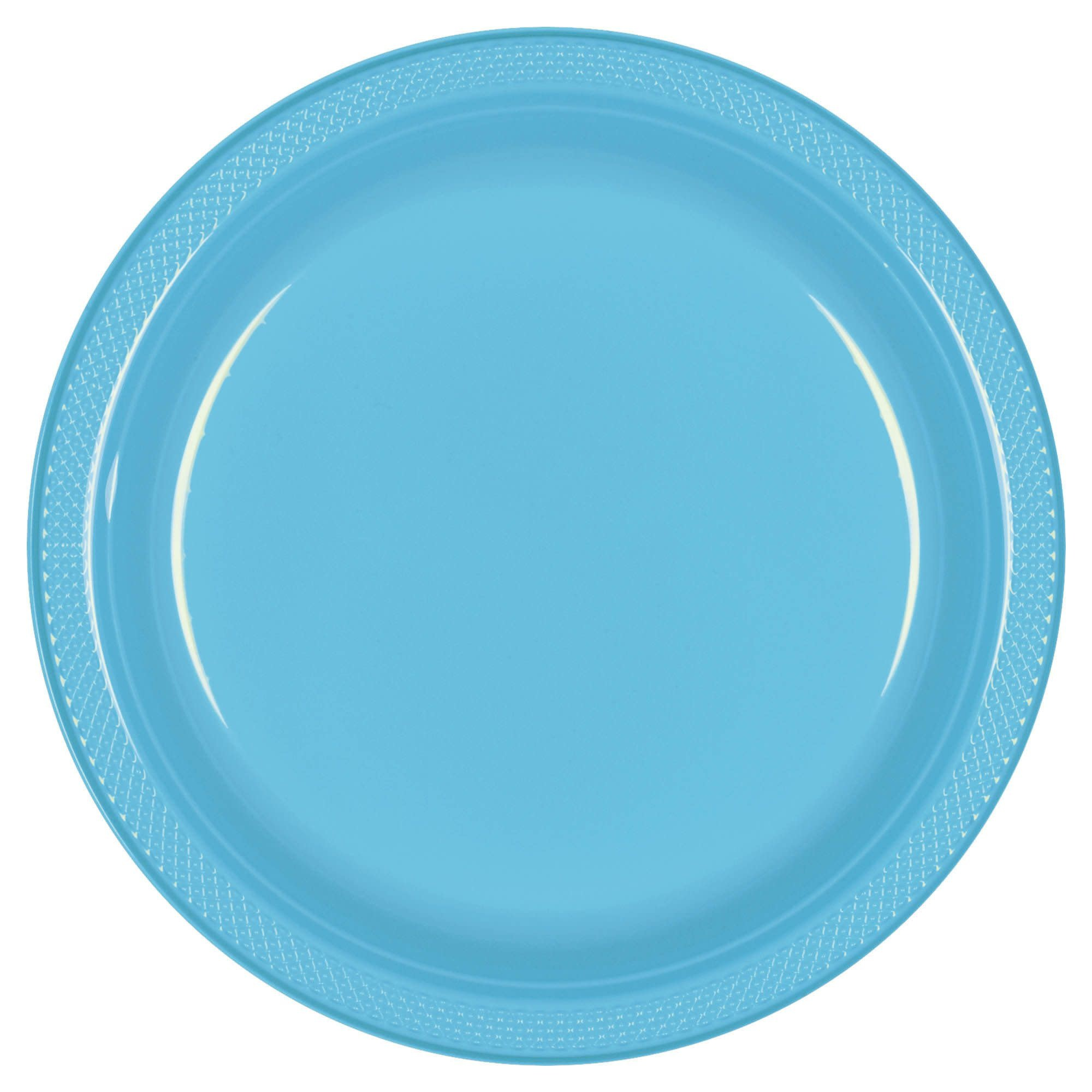 "Caribbean Plastic Plates, 10 1/4"""