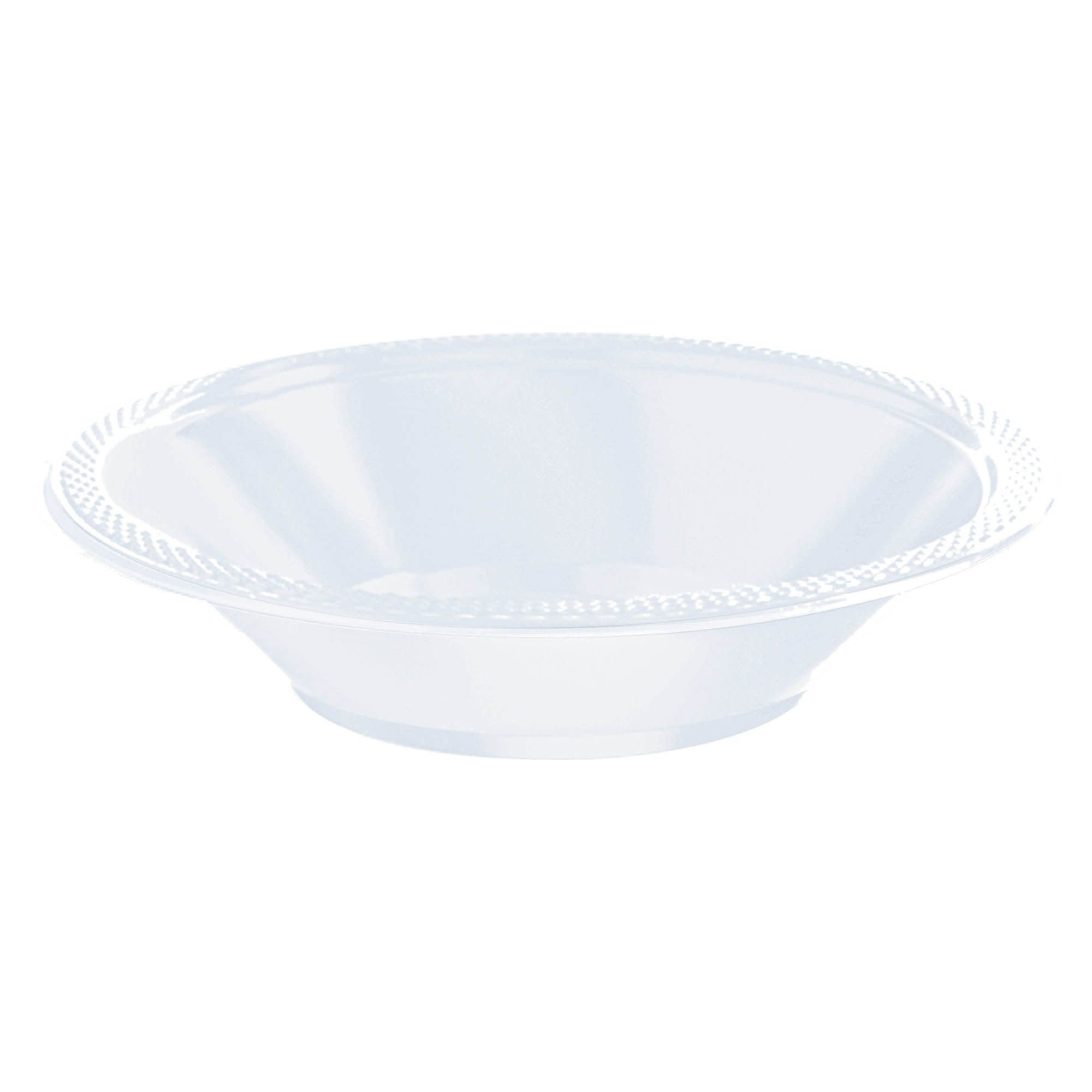 Clear Plastic Bowls, 12oz.