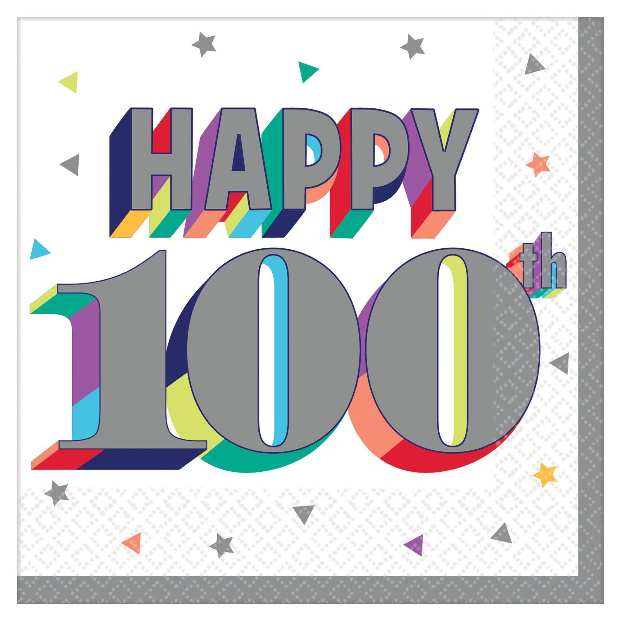 Here's To 100 Beverage Napkins