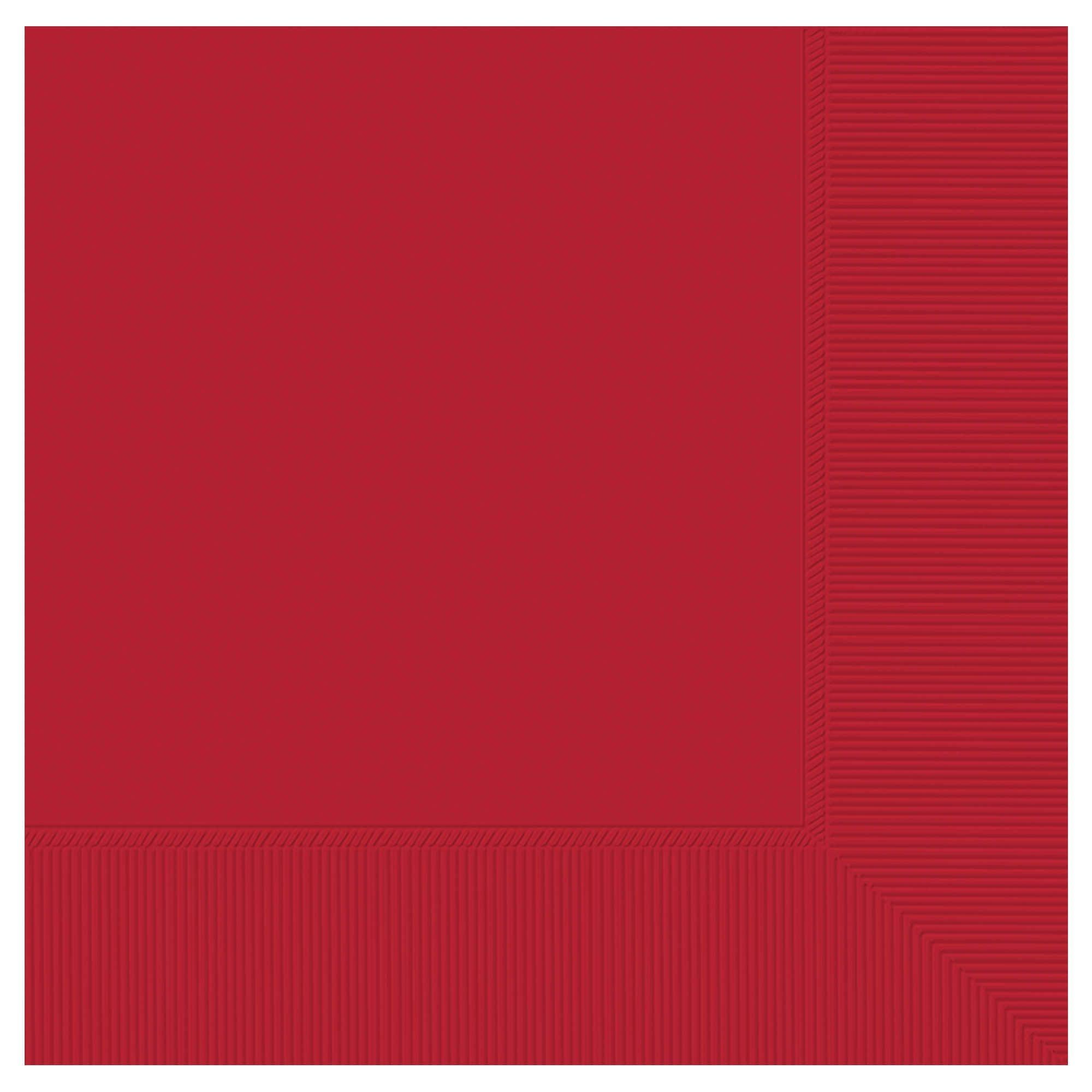 Apple Red 3-Ply Dinner Napkins