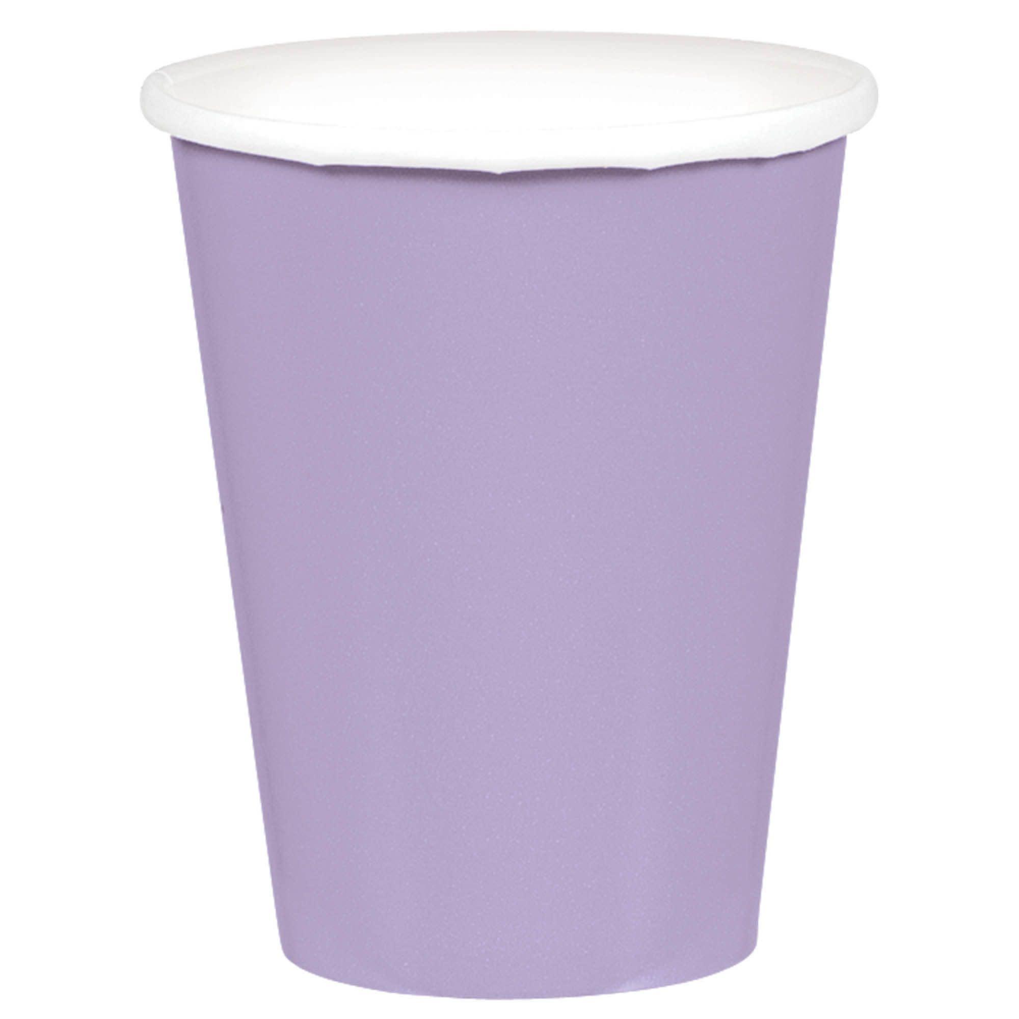 Lavender Paper Cups, 9oz.