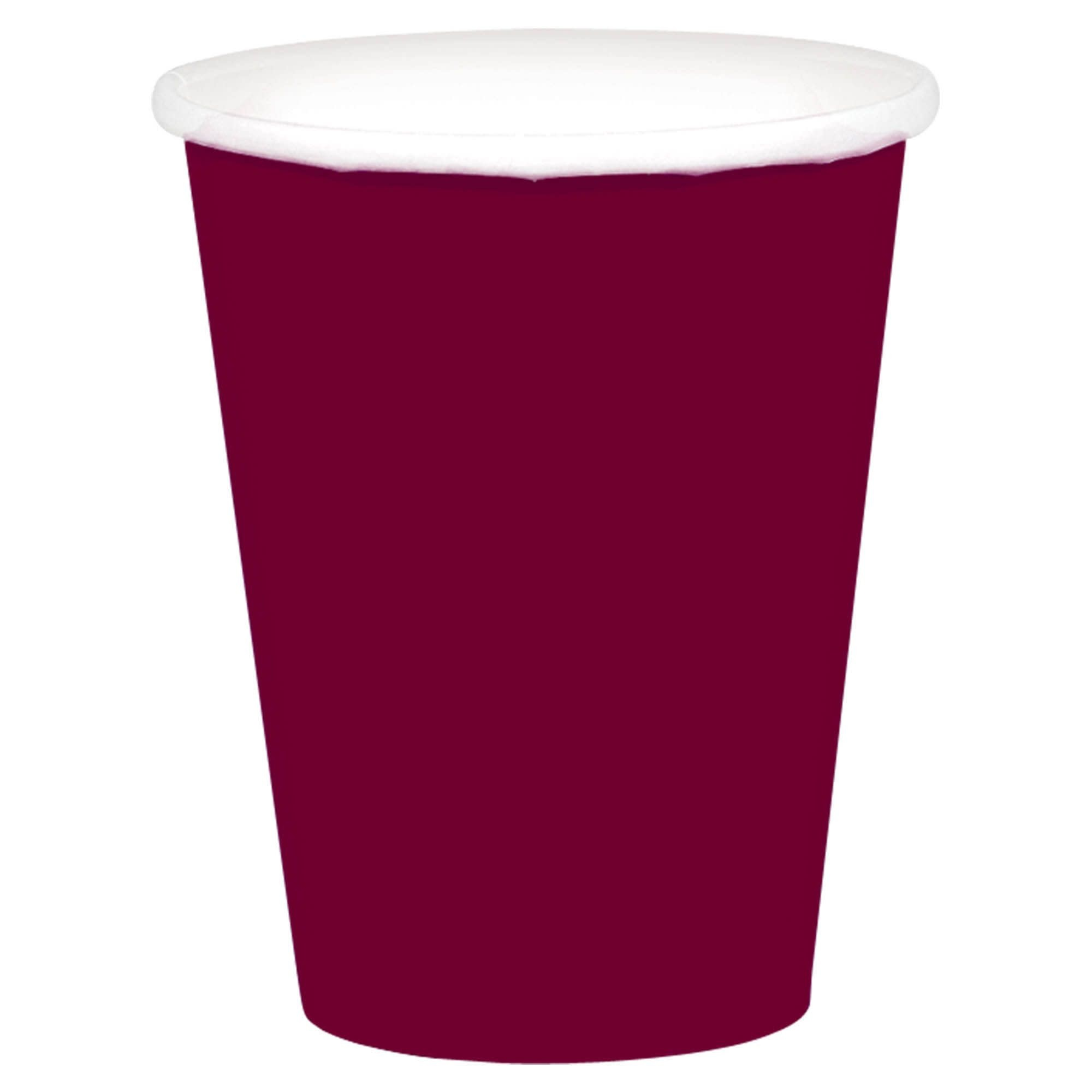 Berry Paper Cups, 9oz.