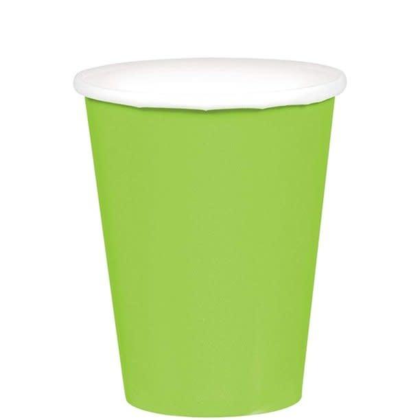 Kiwi Paper Cups, 9oz.