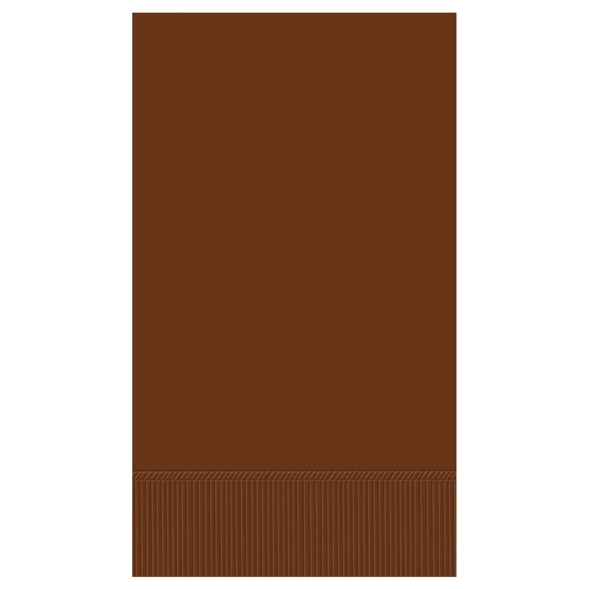 Chocolate Brown 3-Ply Guest Towels