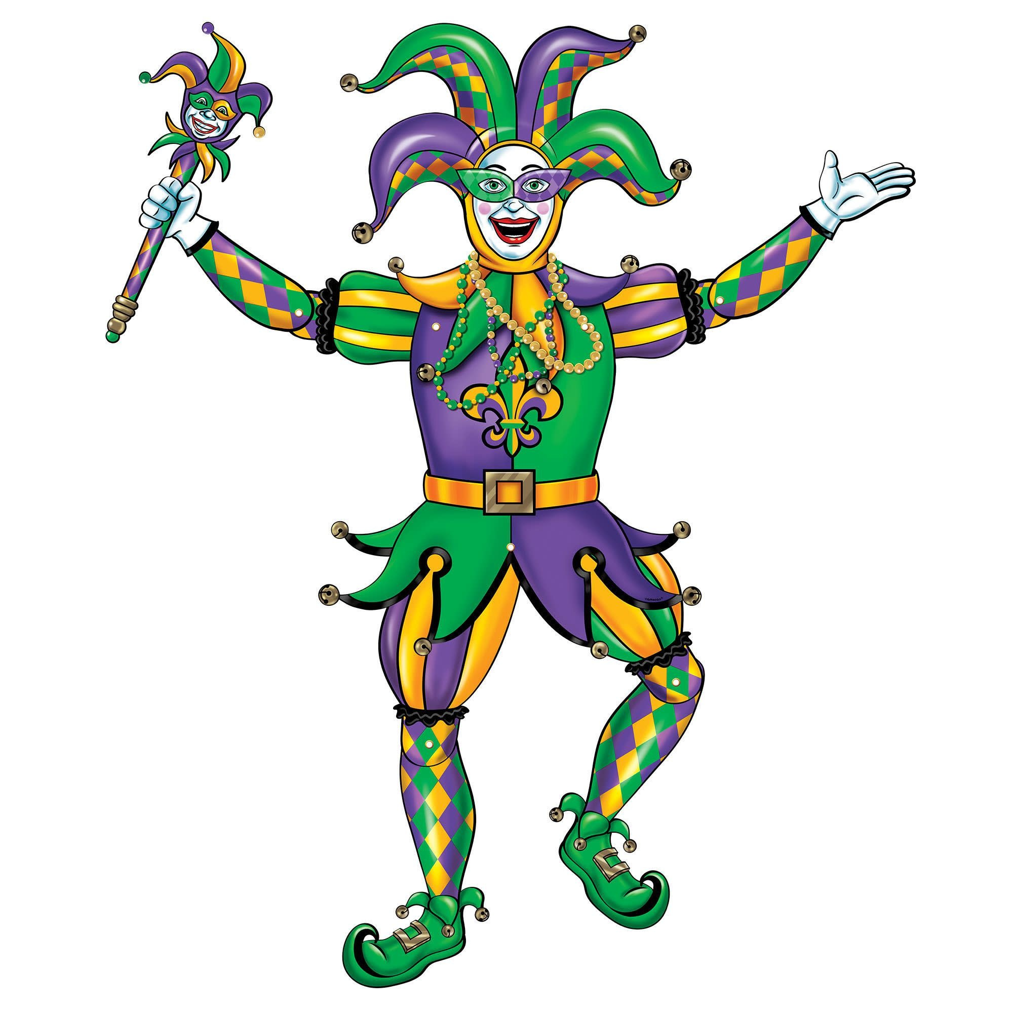 Jester Jointed Cutout