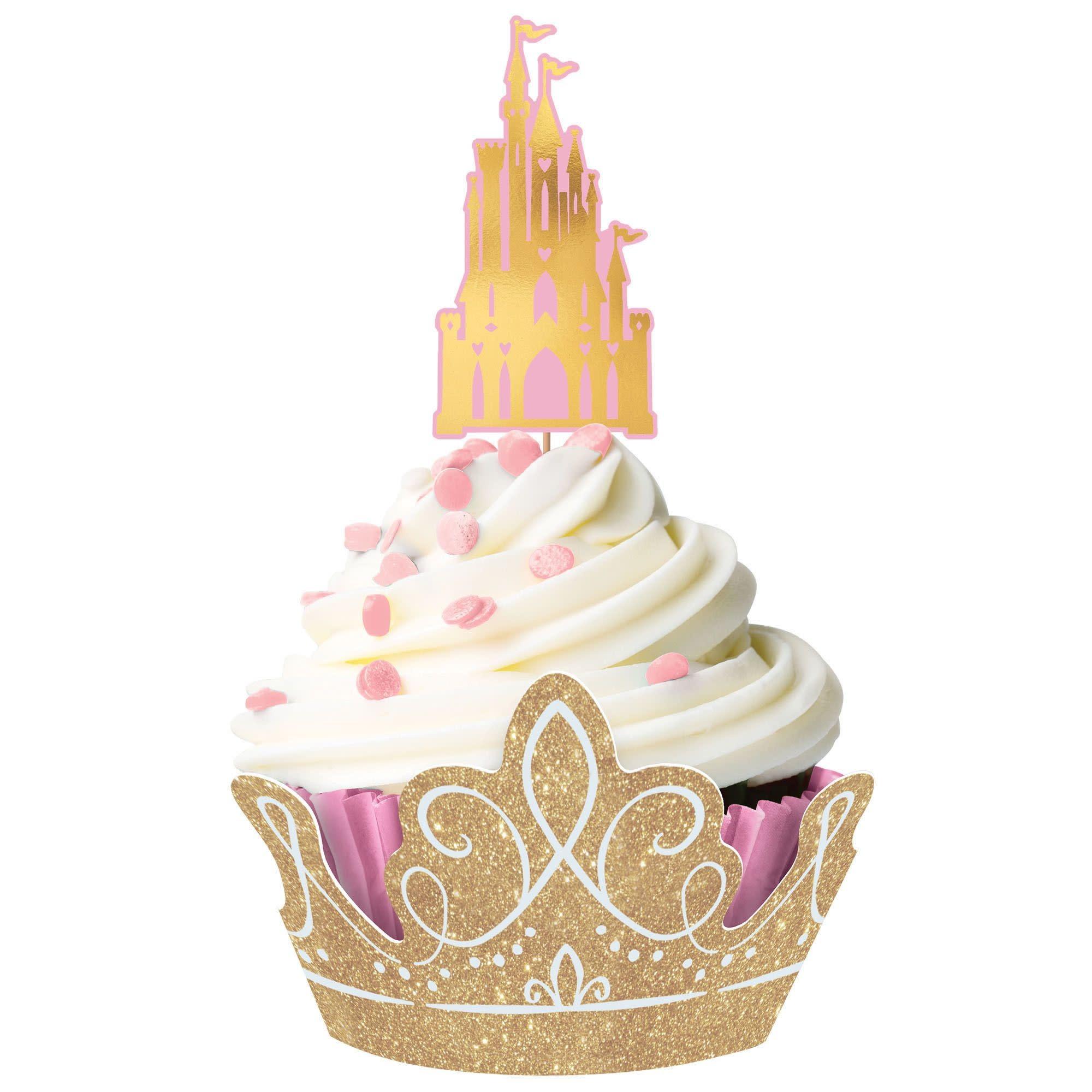 ©Disney Princess Glitter Cupcake Kit