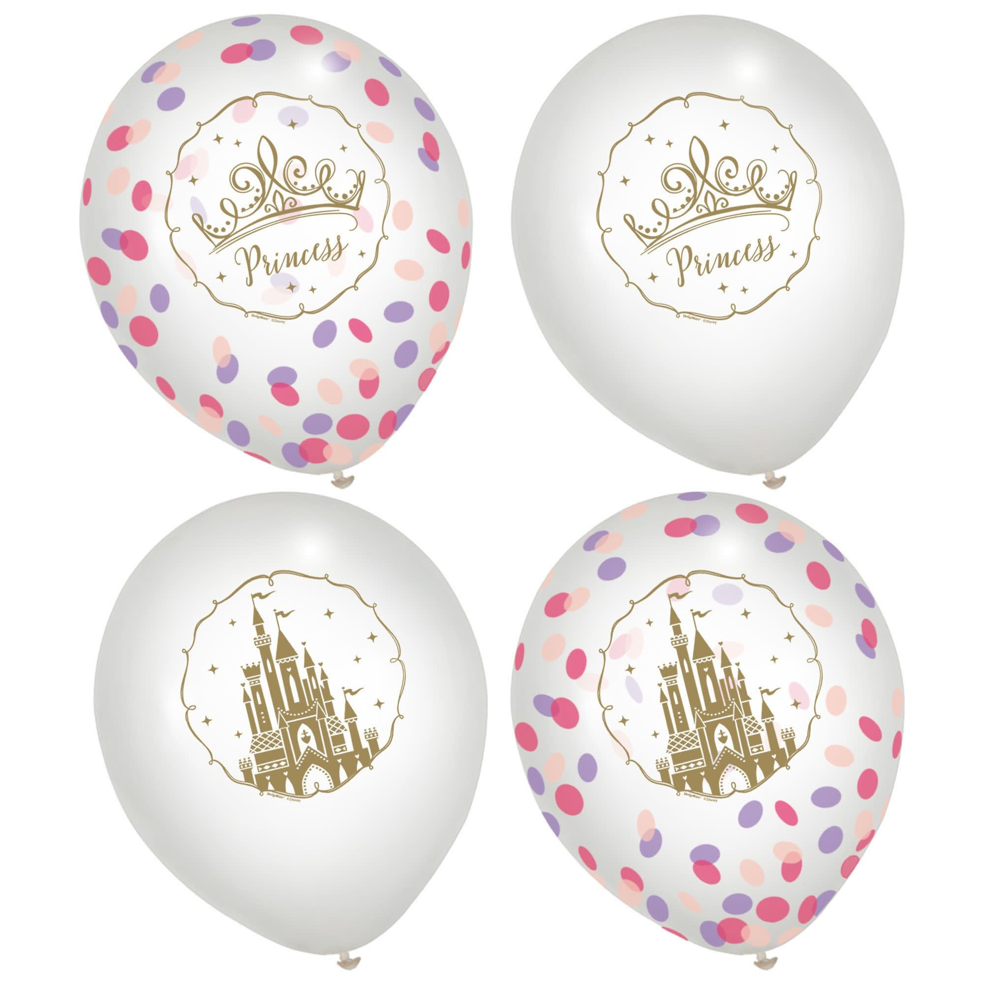©Disney Princess Latex Confetti Balloons (Latex Only)