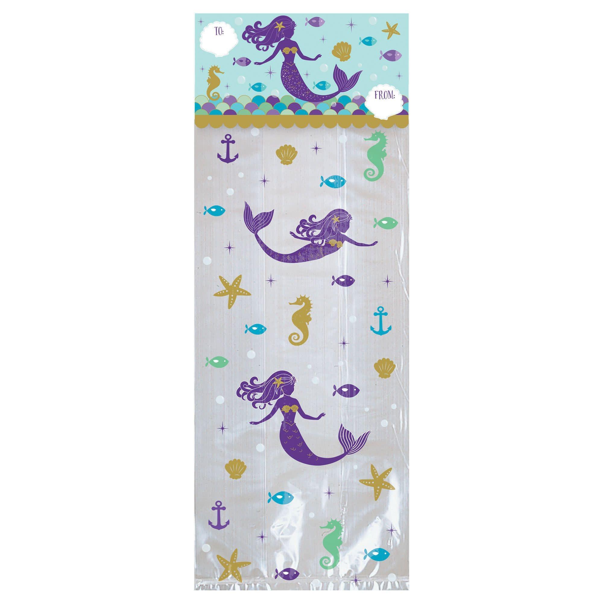 Mermaid Wishes Treat Bags Kit