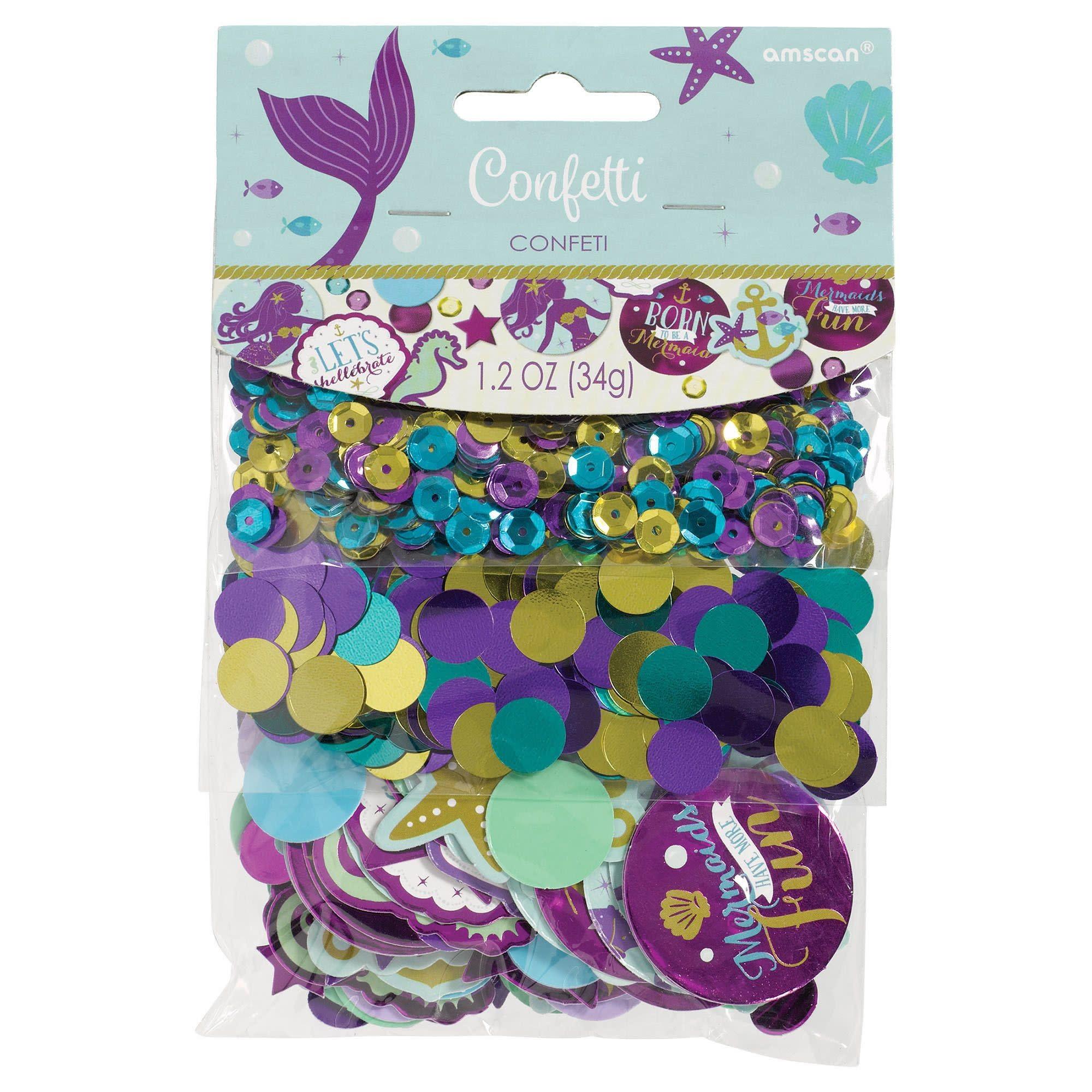 Mermaid Wishes Sequin/Foil/Paper Confetti