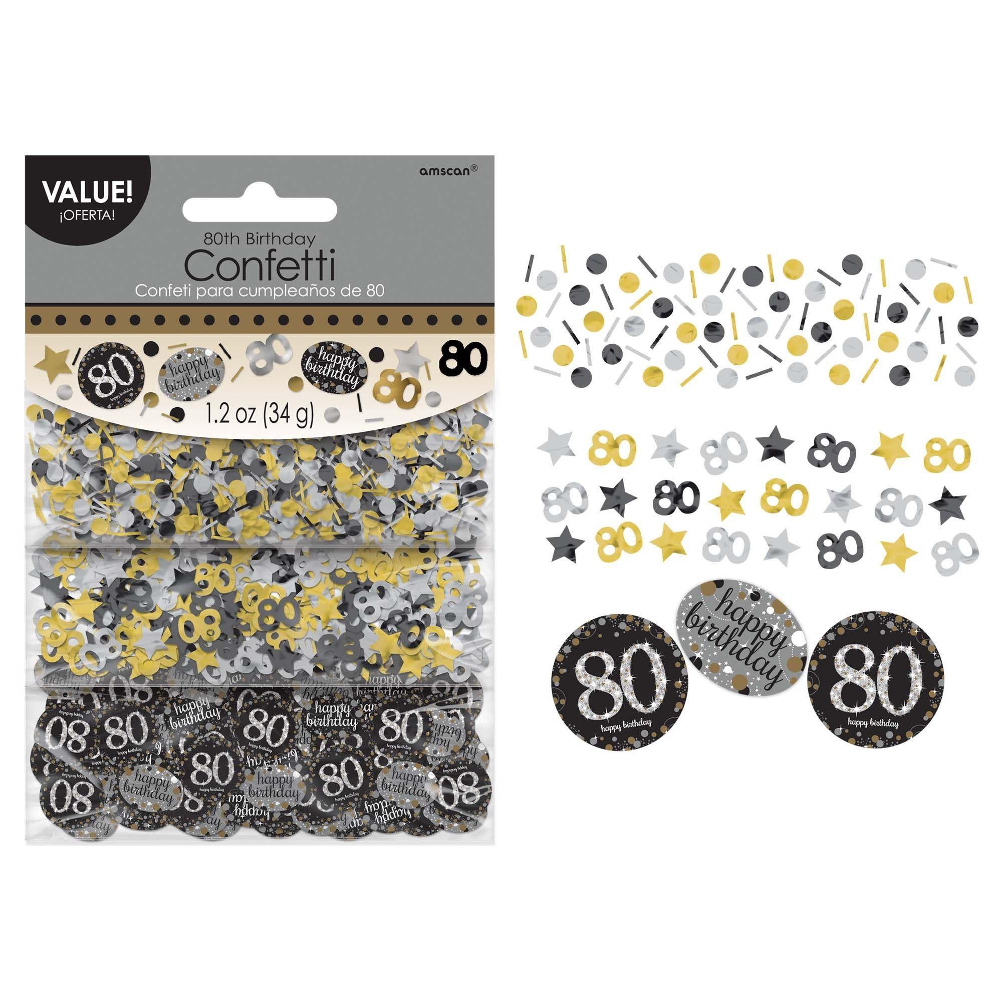 Sparkling Celebration 80 Confetti