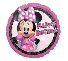 "18"" Mylar 'Happy Birthday"" Minnie Mouse  Forever - #148"