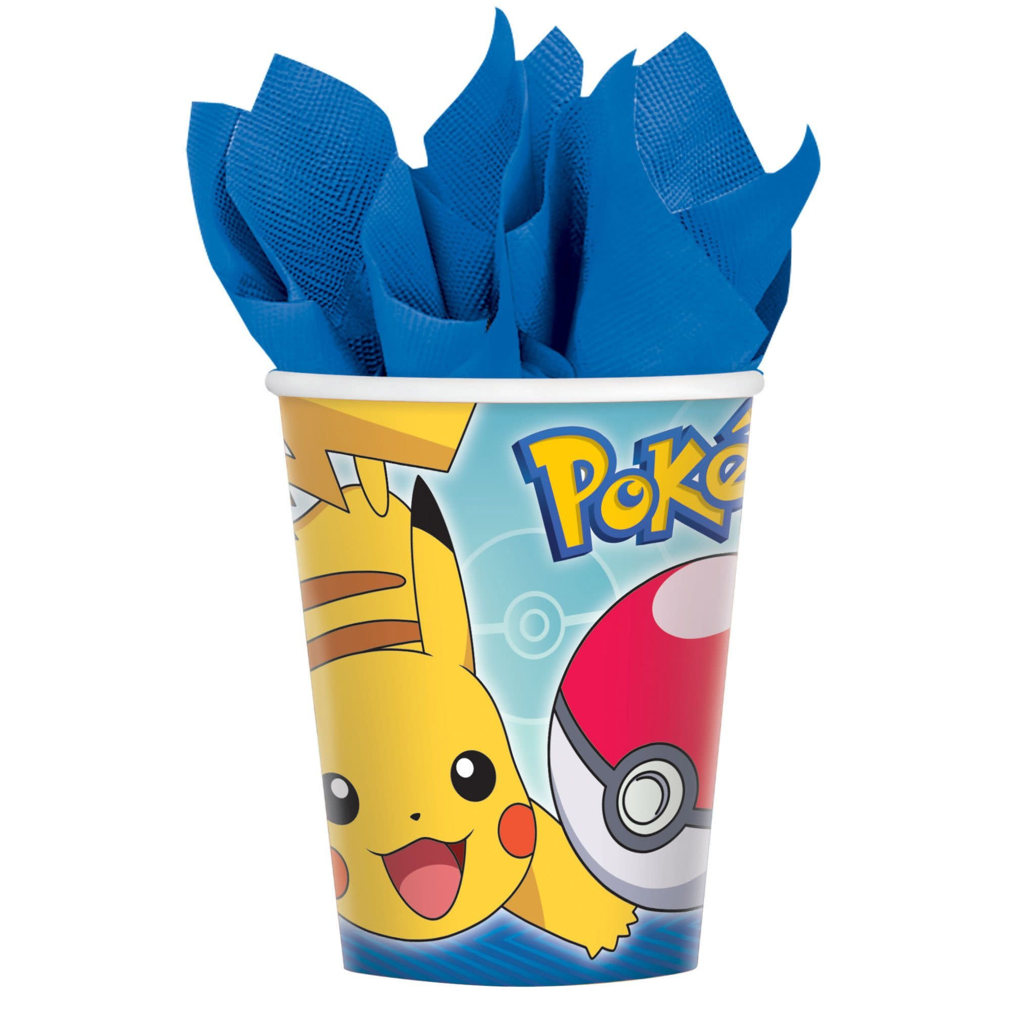 Pokemon™ Cups, 9 Oz.