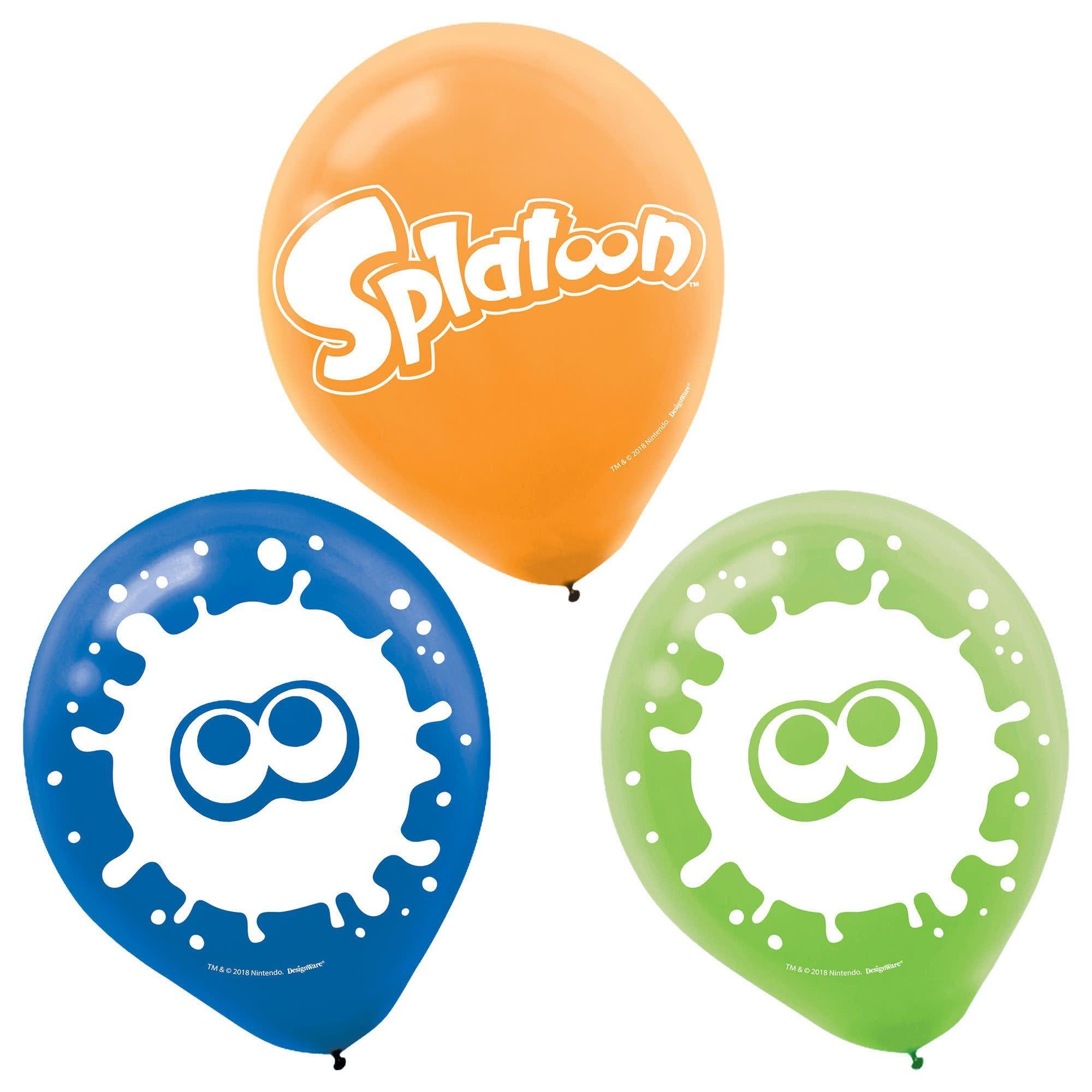 Splatoon® Latex Balloons (Latex Only)