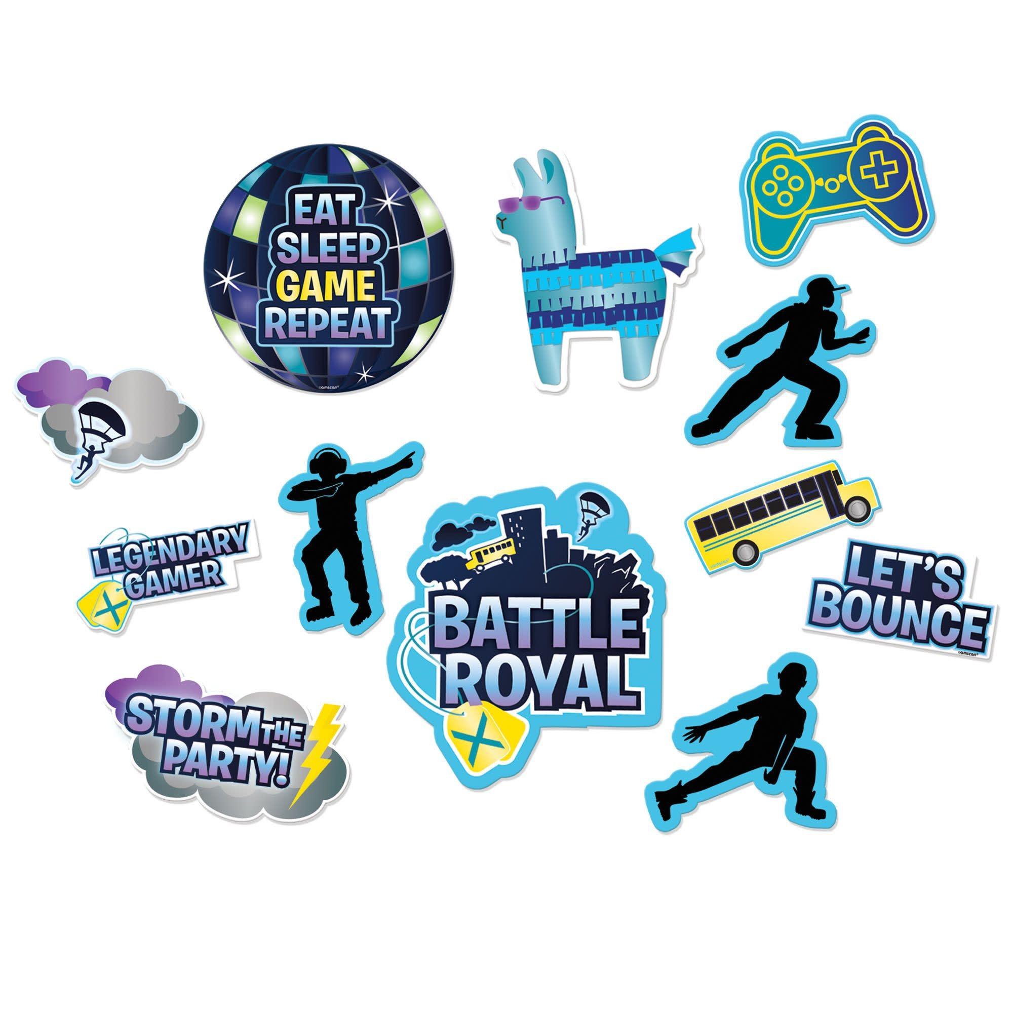 Battle Royal Cutouts, Value Pack