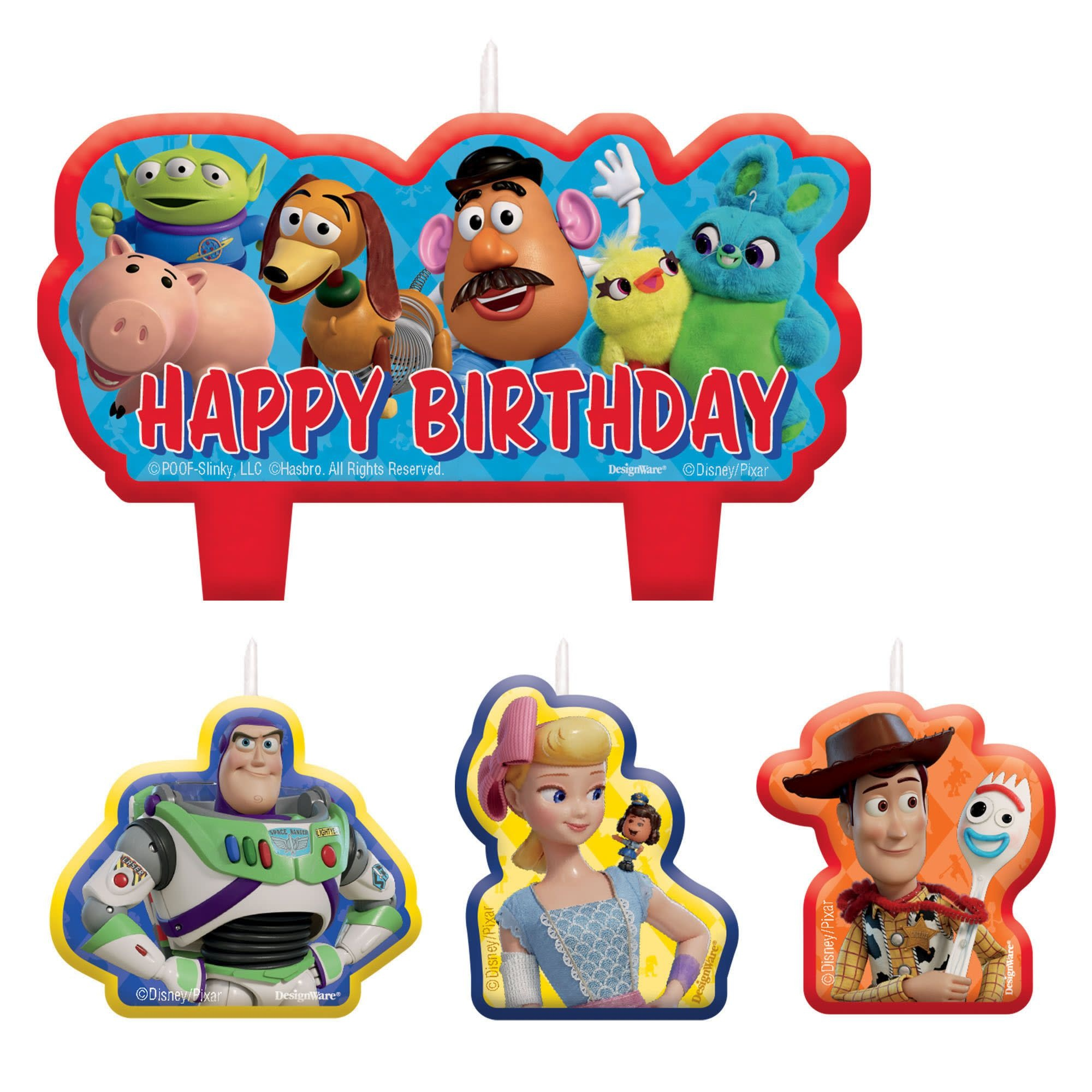 ©Disney/Pixar Toy Story 4 Birthday Candle Set