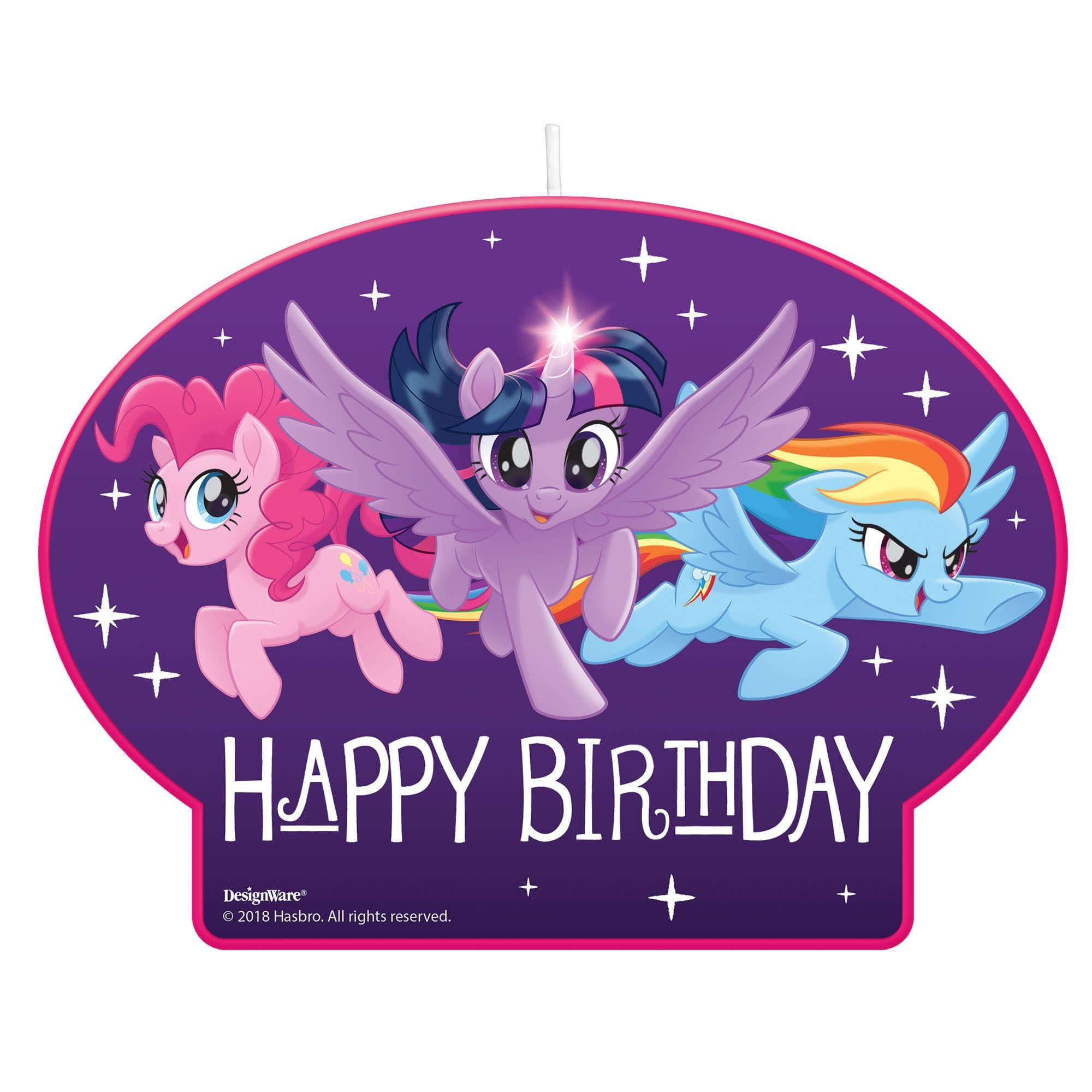 My Little Pony Friendship Adventures™ Birthday Candle