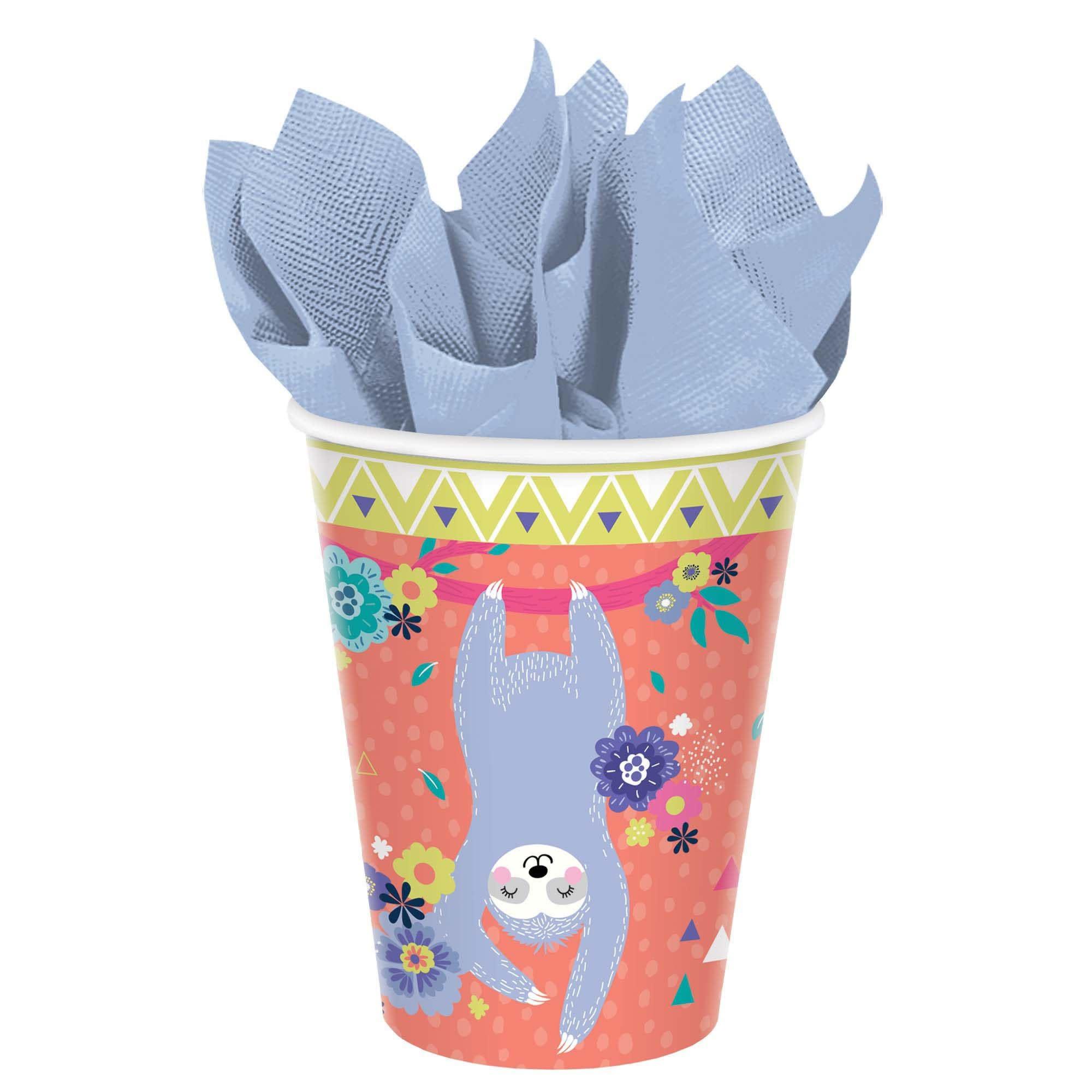 Sloth Cups, 9 Oz.