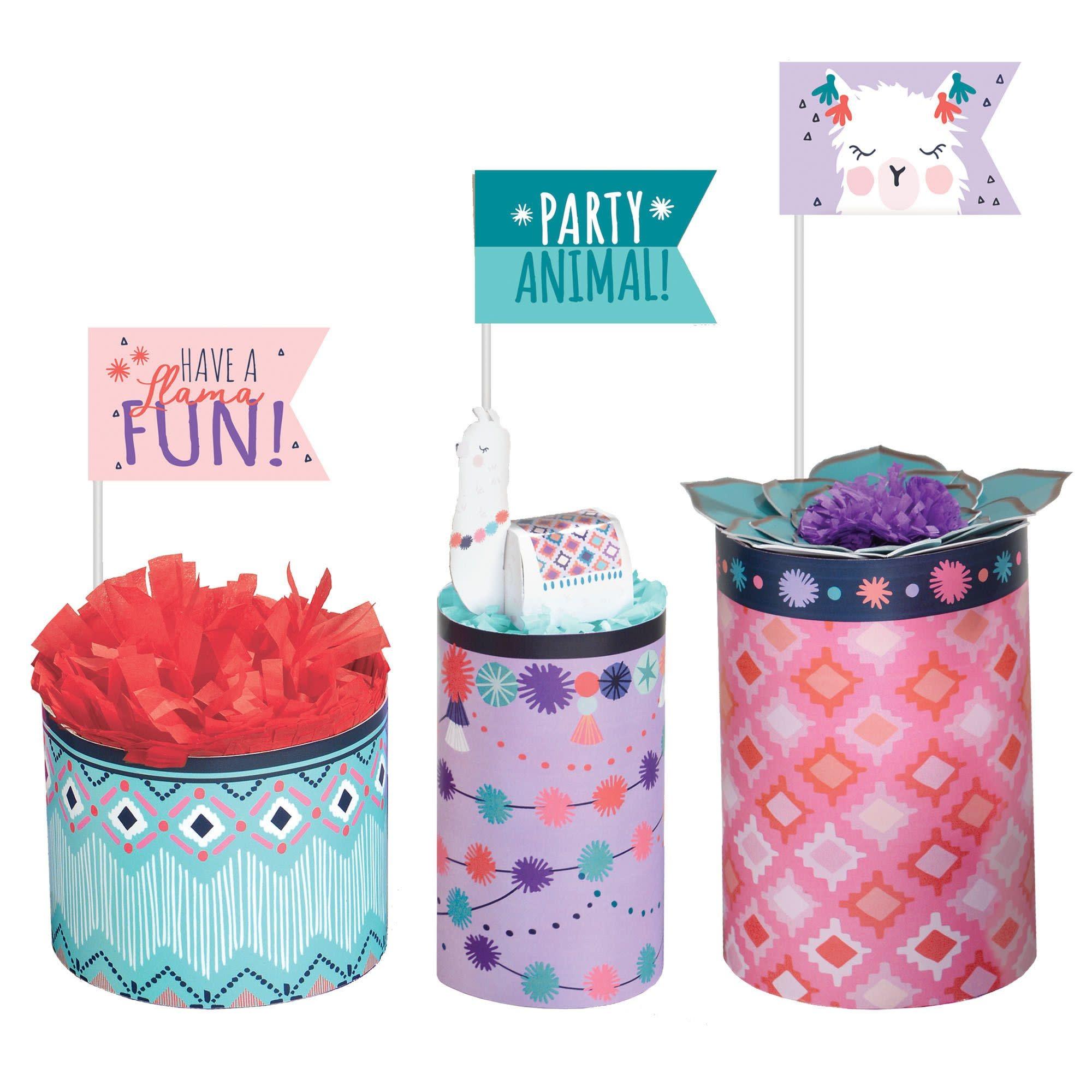 Llama Fun Centerpiece Decorating Kit