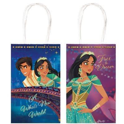 Aladdin Kraft Paper Favor Bags (8ct)