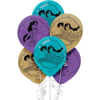 Aladdin Latex Balloons (6ct)